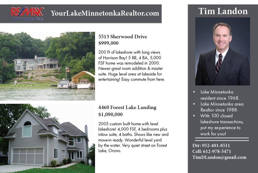 Lake Minnetonka High End Homes