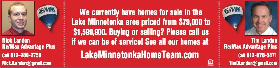 Home for sale on Lake Minnetonka